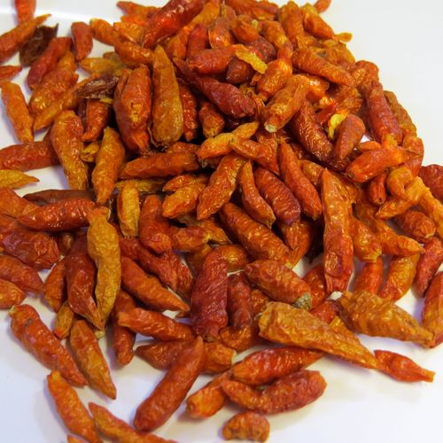 35g Bio Chilies 1-3 cm (Bird Eyes) - ganz - DE-ÖKO-024