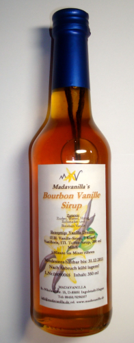 Bourbon Vanillesirup - 350ml