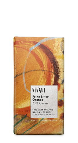 100g Vivani Feine Bitter Orange