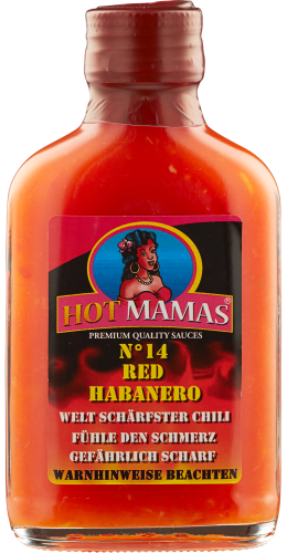 Chili red Habanero Sauce No 14 Hotmamas 100ml